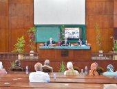 رئيس جامعة بنى سويف للعاملين وأعضاء التدريس: هدفى الشفافية فى اتخاذ القرارات