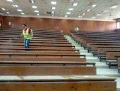 خطط احترازية ومعسكرات للخدمة العامة استعدادا للعام الدراسى بجامعة المنيا