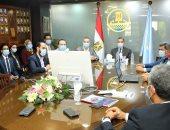 تعاون بين مركز المعلومات بمجلس الوزراء ومحافظة كفر الشيخ لتطوير الخدمات