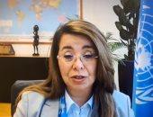 غادة والى تبحث افتراضيا مع النائب العام مكافحة التدفقات المالية غير المشروعة