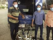 ضبط مقهى مخالف لتقديمه الشيشة للمترددين على طريق بردين بمركز الزقازيق