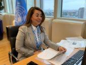 غادة والى تدعو لدعم صندوق الأمم المتحدة لمساعدة ضحايا الإتجار بالبشر
