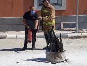 """""""أعمال الإطفاء ومكافحة الحرائق"""" فى دورة تدريبية بالقابضة للمطارات"""