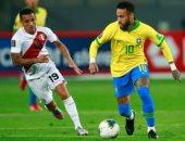 البرازيل تتعادل مع بيرو 1 - 1 فى الشوط الأول بتصفيات مونديال 2022.. فيديو