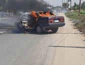كشف حقيقة ادعاء قيام مجهولون بحرق سيارة أحد مرشحى مجلس النواب بالدقهلية