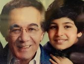 حفيد محمود ياسين ناعيا جده بصورة نادرة: في الجنة يا حبيبي