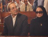شهيرة: الجنازة المهيبة لـ محمود ياسين رغم ظروف كورونا دليل على حب المولى