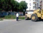 حملات نظافة بمحيط المدارس استعدادا للعام الدراسي الجديد فى البحر الأحمر