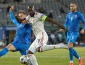 لوكاكو يقود منتخب بلجيكا للفوز على أيسلندا والابتعاد في الصدارة..فيديو