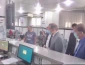 صور .. محافظ كفر الشيخ يتفقد المركز التكنولوجى وتقديم طلبات التصالح