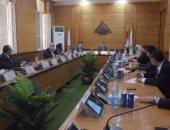 جامعة بنها تشكل لجنة للمتابعة الميدانية للإجراءات الإحترازية بالكليات