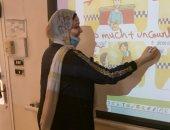 """مدرسة الكنيسة الأسقفية تستعد للعام الدراسى بتطوير تقنيات """"التعليم عن بعد"""""""