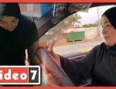 الأسطى زينب .. سائقة تاكسى بدرجة ليسانس آداب فى المنوفية