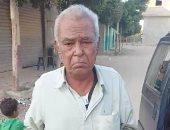 مسجل يتعدى بالضرب على والده المسن بقرية بالشرقية.. صور
