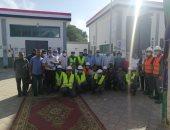 """""""مياه المنيا"""": محطة السلام ببنى مزار تحصل على شهادة الـTSM العالمية"""