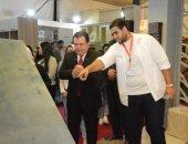 نقابة المهندسين بالإسكندرية تفتتح معرض الآثاث والديكور
