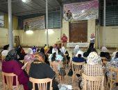 توعية رواد كنيسة العذراء مريم بطهطا فى سوهاج بأهمية الحفاظ على مياه الشرب