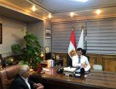 وزير الرياضة يبحث استعدادات استضافة مونديال اليد مع مدير البطولة