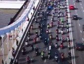 انطلاق مهرجان الدراجات النارية في موسكو وسط تطبيق إجراءات الوقاية من كورونا
