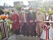 محافظ الغربية يفتتح وحدة غسيل كلوى ومدرستين ببسيون .. صور