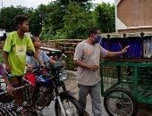 مدرسة ديلفرى.. عربة متحركة فى الفلبين لتعليم الأطفال عن بُعد.. ألبوم صور