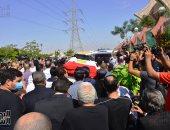تشييع جنازة الفنان الراحل محمود ياسين اليوم من مسجد الشرطة بالشيخ زايد
