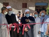 """وكيل """"أوقاف الإسكندرية"""" يفتتح مسجدى الرضوة والرضوان الجديدين.. صور"""