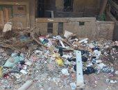 """""""الجيزة"""" توجه برفع القمامة من شارع نصر الدين في الهرم.. استجابة لسيبها علينا"""