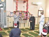 محافظ أسيوط يفتتح مسجدى التوحيد والساحة الشعبية بصدفا ويلتقى المواطنين