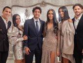 حسام غالى يكشف عن صورة جديدة من خطوبة محمد هانى على شقيقة زوجته