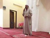 وفد من الأوقاف يشارك بجنازة إمام الشرقية المتوفى أثناء صعوده لإلقاء خطبة الجمعة