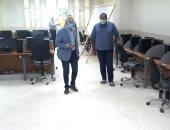 """استعدادات مكثفة بكليات جامعة طنطا لبدء العام الدراسى الجديد """"صور"""""""