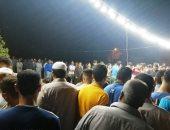 أهالى مدينة القرين بالشرقية يشيعون جنازة إمام توفى على المنبر  .. فيديو