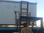 محولات كهرباء جديدة لإضاءة مدخل قرية العتمور بإسوان