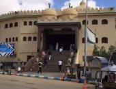 مسجد المصطفى قبل افتتاحه بمناسبة العيد القومى للسويس.. فيديو