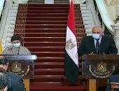 سامح شكرى: نسعى لتعزيز التعاون مع إسبانيا لخدمة المصالح المشتركة بين البلدين