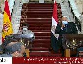 """وزيرة خارجية إسبانيا تؤكد تقدير بلادها للجهود المصرية بمجال """"تمكين المرأة"""""""