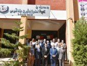 محافظ الشرقية ورئيس جامعة الزقازيق يفتتحان كلية الطب البشرى بفاقوس