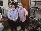 وزير التنمية المحلية ومحافظ الأقصر يتفقدان وحدة طب الأسرة بالقبلى قامولا..صور