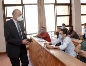 """خطط احترازية لمواجهة """"كورونا"""" وحماية 103 آلاف طالب بجامعة طنطا"""