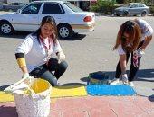 """انطلاق أعمال التشجير والنظافة ضمن مبادرة """"مصر الجميلة"""" بالإسماعيلية"""