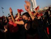 صور.. مظاهرات فى تشيلى خلال إحياء الذكرى الأولى للاحتجاجات الكبرى ضد الحكومة
