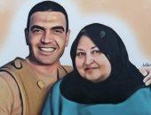 والتقى الأحبة.. علاقة والدة الشهيد البطل أحمد المنسى بابنها × صور
