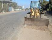 رفع 160 طن قمامة من شوارع مدينة سمنود وقراها بالغربية.. صور