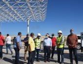 محافظ بورسعيد يتابع إنشاء منفذ النصر الجديد وتوسعة المنطقة المحيطة به