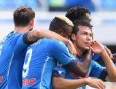 نابولي يسحق أتالانتا 1/4 فى الدوري الإيطالي.. فيديو