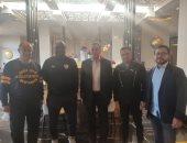 السفير المصري يزور بعثة الزمالك قبل مواجهة الرجاء بالدار البيضاء