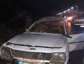 إصابة 9 أشخاص فى حادث انقلاب سيارة بقنا بسبب السرعة المفرطة
