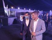 وزير الرياضة يصل الأهرامات لمتابعة نهائى CIB مصر الدولية للإسكواش