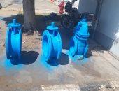 مياه المنيا : مصنع لمطابق غرف الصرف الصحى وورش لصيانة المحركات